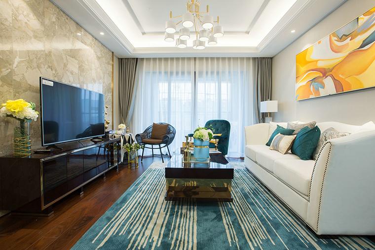 超唯美小户型设计客厅效果图