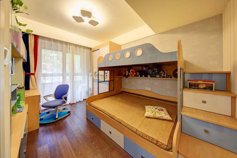 8万搞定120平两居室装修儿童房图片