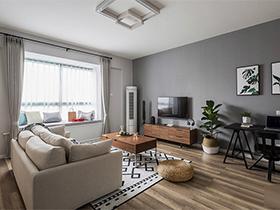 魅力飘窗两居室装修 活力与气质并存