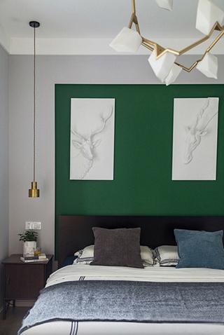 魅力飘窗两居室吊灯图片
