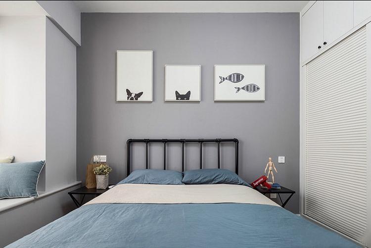 魅力飘窗两居室客卧装修图