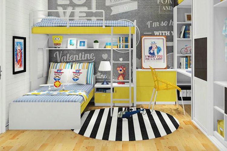 儿童书房装修设计图片