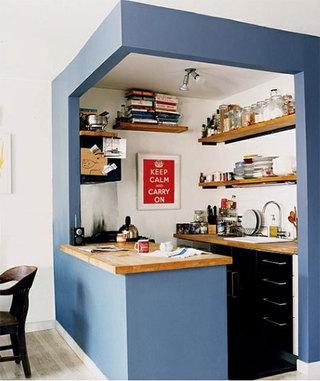 开放式厨房厨房装修效果图