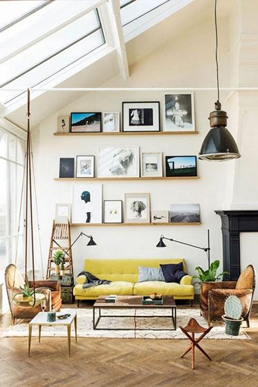简欧风格客厅装修设计图