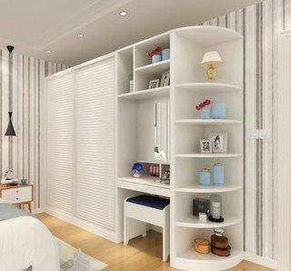 大容量卧室衣柜效果图