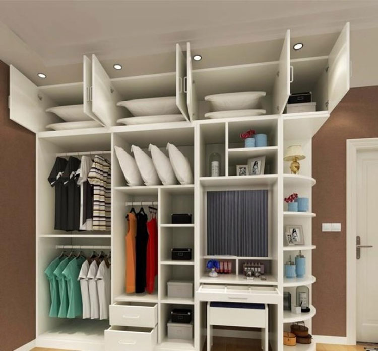 大容量衣柜欣赏图