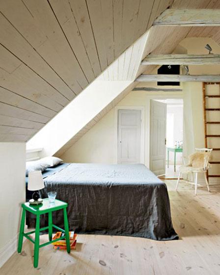 阁楼碰头卧室设计图