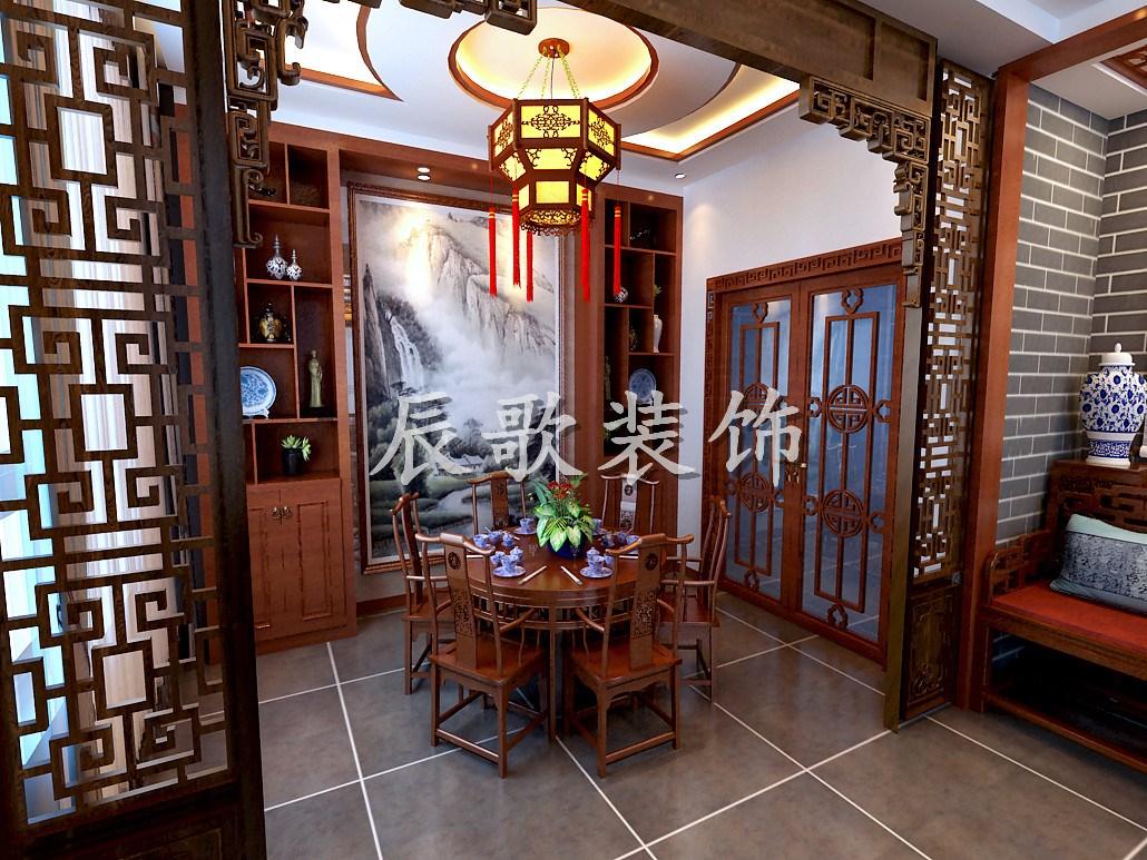 沈阳装修 沈阳装修案例 明清册,中式韵味   中式风格家居是以宫廷建筑
