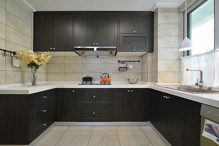 95平米简约风格装修厨房设计图