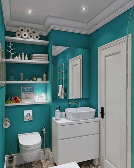 小户型卫生间装潢图