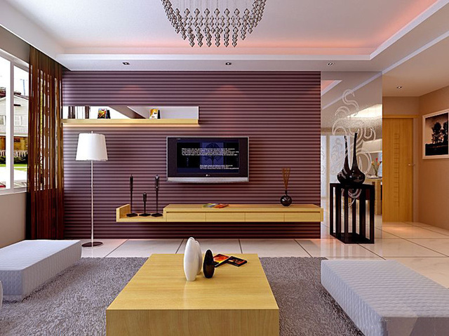 下面就一起来看客厅电视背景墙的风水学说,看看有什么是装修是需要