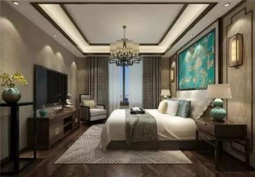 新中式卧室装修效果图 典雅与时尚的完美邂逅