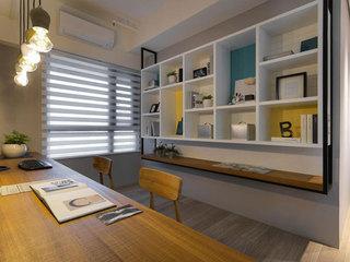 现代简约风格装修收纳柜欣赏图