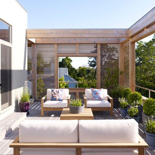 5款露天阳台装修效果图 享受舒适的自由时光