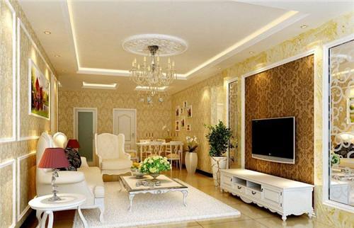 房屋装修效果图 90平三室两厅简装5万搞定风格别样的小窝