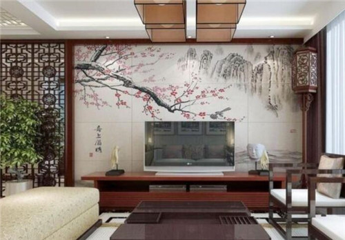 客厅电视墙装修效果图 个性电视墙装修让客厅更出众图片