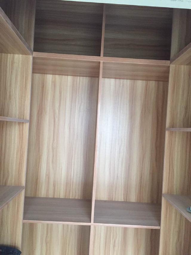 新房木工进行中,能做柜子的地方全做了满墙柜,连隔断也没放过!