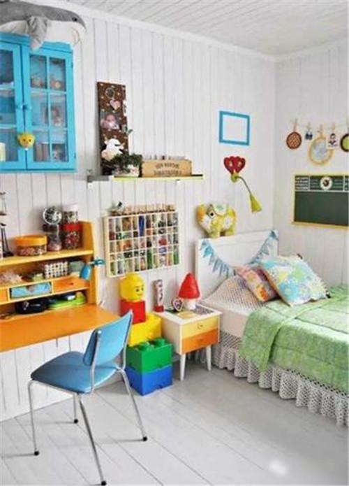 儿童房间装修风格效果图 2017儿童房间布置配色有大讲究