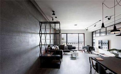 极简风格在地板装饰上常用到灰色,独特. 2018-01-17 12:00:20