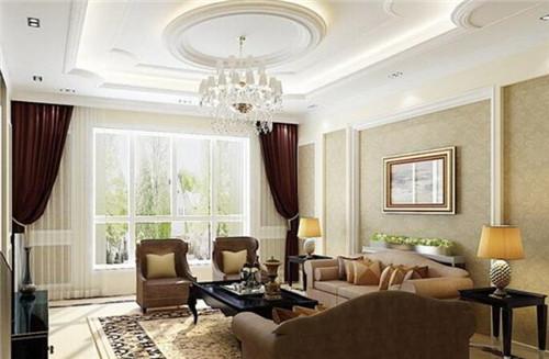 客厅顶部装饰效果图 客厅顶部装饰宜忌有哪些