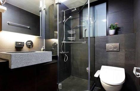 小户型卫生间这样设计太美观又实用了!
