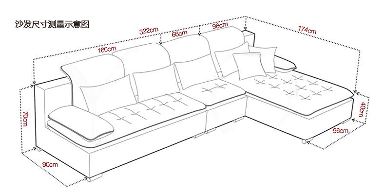 沙发尺寸选择大揭秘,这样选沙发你家客厅瞬间美100倍!