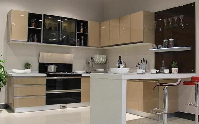 开放式厨房这样设计,没有后顾之忧