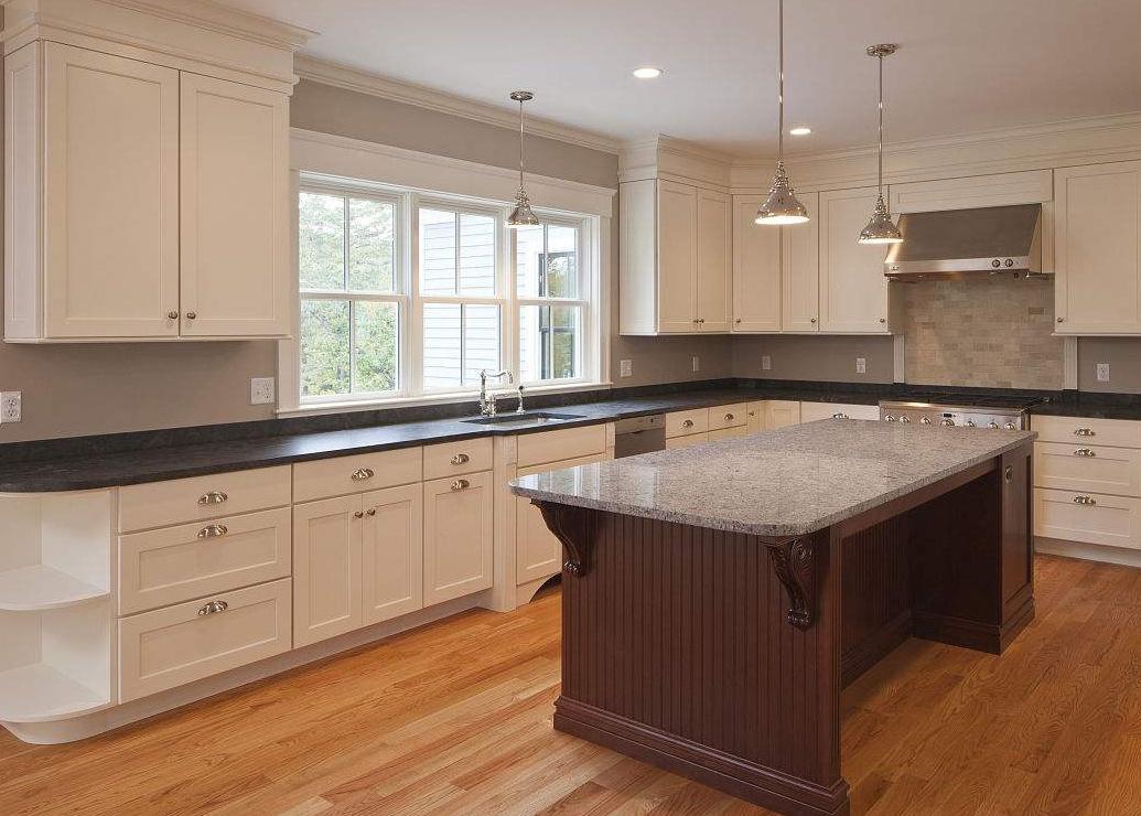 厨房灶台装修效果图 常见的灶台材质都有这些图片