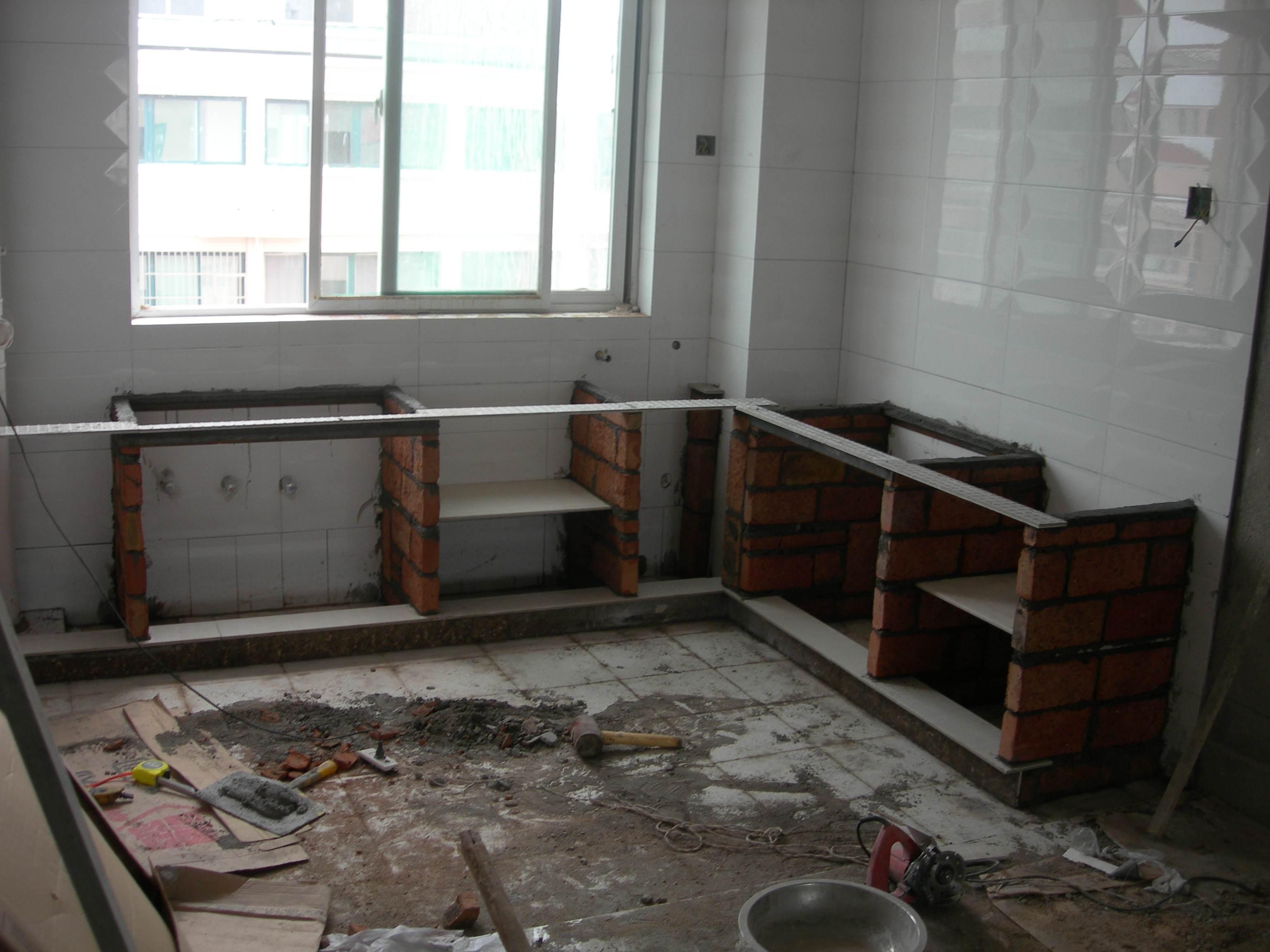 瓷砖灶台如何铺贴 详细制作步骤