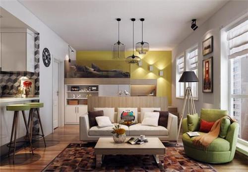 单身公寓装修设计图三