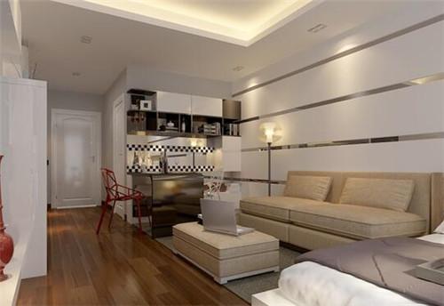 主人非常善于利用空间,嵌入式储物柜的设计,美观又实用,极富设计感.图片
