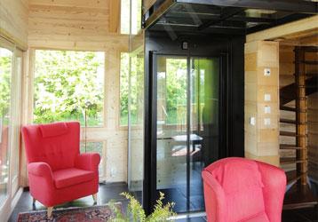 螺杆式别墅家用电梯