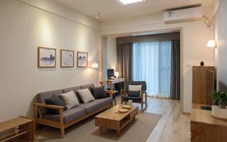 日式风格两居室装修效果图