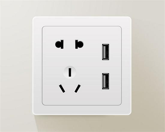 这个时候可以用空调遥控器启动插座,面板的供电指示灯就会发亮,再按一