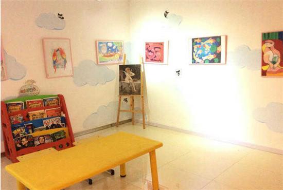儿童画室装修效果图欣赏 哪种风格的儿童画室更好