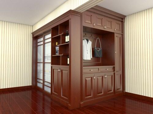 中式酒柜特点有哪些 家庭酒柜注意事项图片