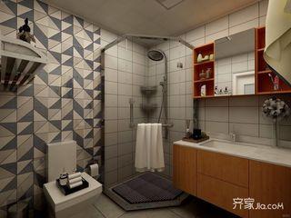 110平二居卫生间装修效果图