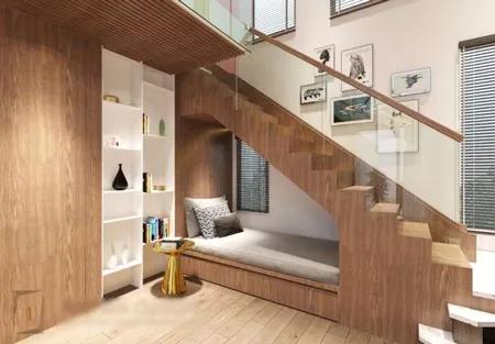 20种装饰楼梯下方空间的方法,功能之多超乎你的想像