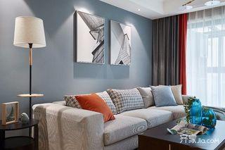 100㎡美式风格三居装修效果图