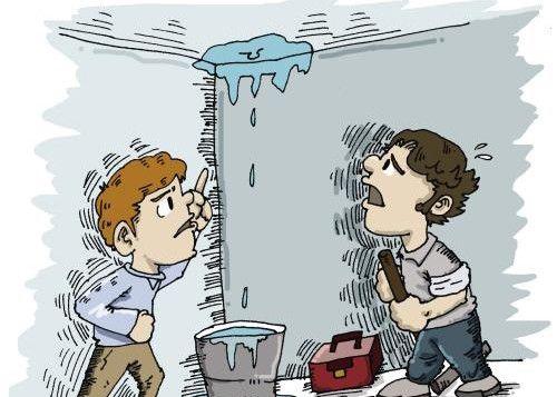 最强难题:空调漏水家遭淹