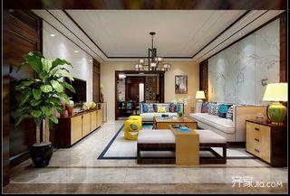 大户型中式四居室装修效果图