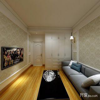 一居室小户型混搭装修效果图