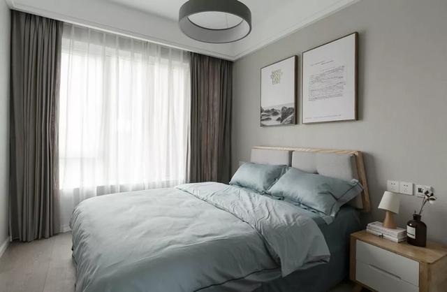 黑白灰三色巧妙搭配,小户型设计出大视野