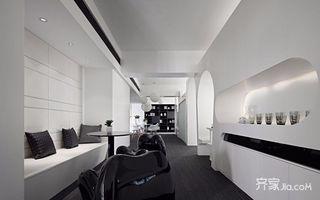 黑白简约风格办公室装修效果图