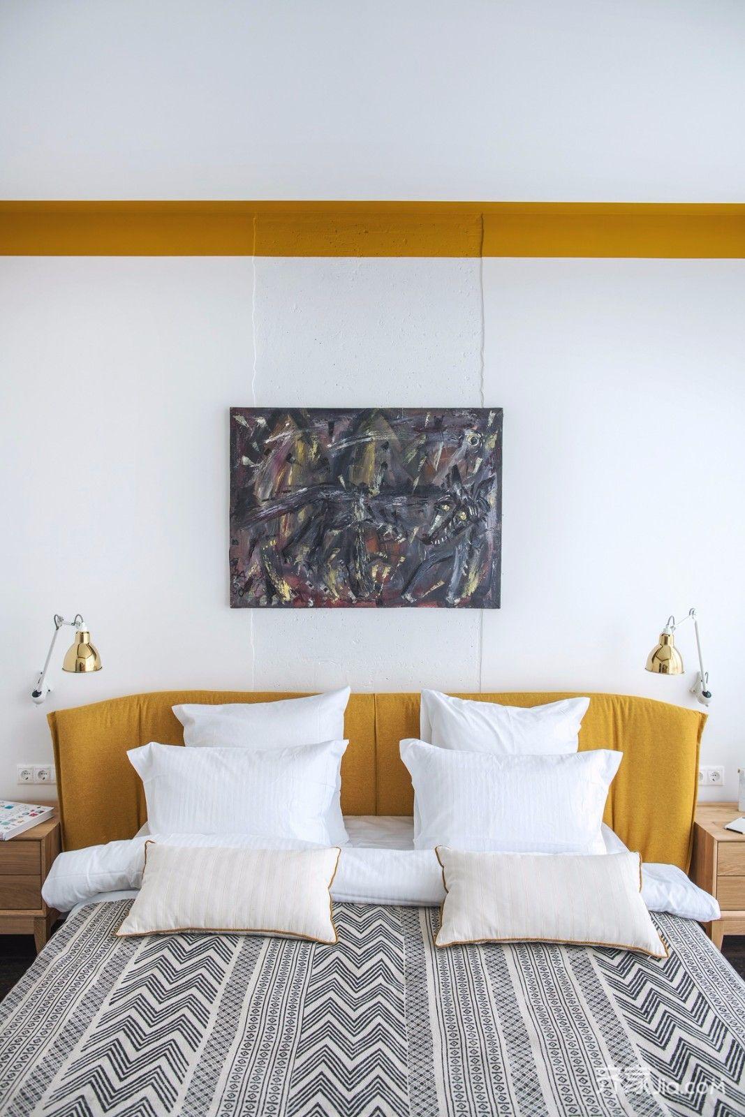 一居室小戶型混搭風裝修臥室搭配圖