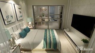 二居室现代简约风格装修效果图