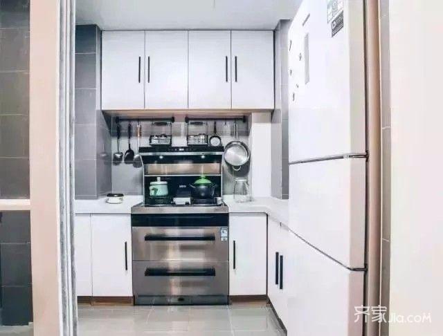 80㎡宜家风格装修厨房效果图