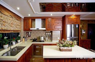 欧式别墅装修厨房设计