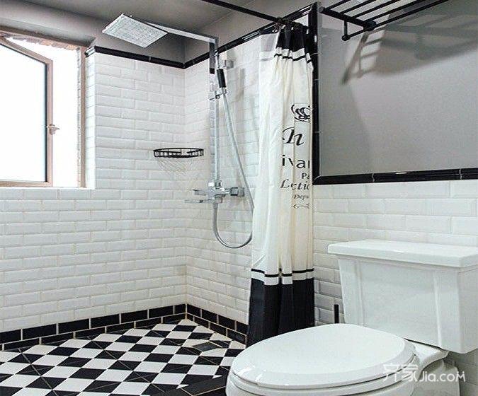 东南亚异域风情家卫生间装潢图