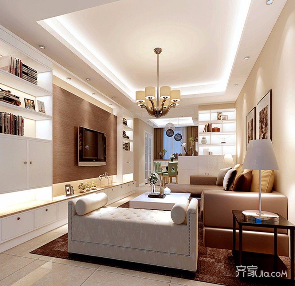 95平米二居室装修 耐看实用